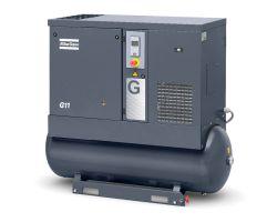 Винтовой компрессор G11 10P на ресивере
