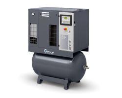 Спиральный компрессор SF 4 — 8 на ресивере