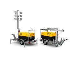 Осветительные мачты на базе дизельных генераторов QAX и QAS