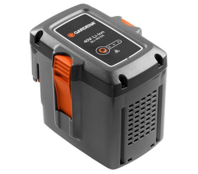 Аккумулятор литий-ионный Gardena BLi-40/100 - цена, фото, инструкция, раскладки запасных частей.