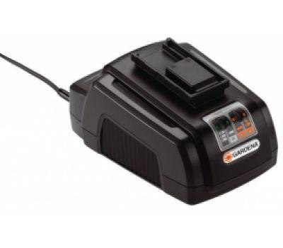 Универсальное зарядное устройство для всех типов аккумуляторов Gardena 18В/25В/36В - цена, фото, инструкция, раскладки запасных частей.