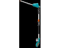 Аккумуляторные телескопические ножницы для живой изгороди Gardena THS Li-18/42