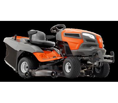 Садовый трактор Husqvarna TC 342T - цена, фото, инструкция, раскладки запасных частей.