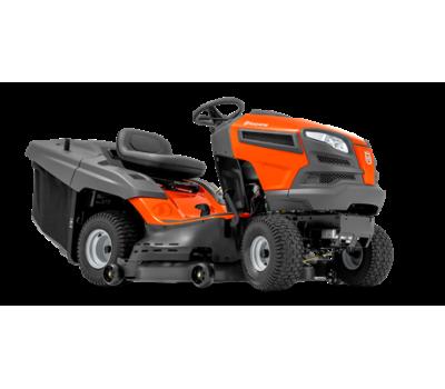 Садовый трактор Husqvarna TC 142T - цена, фото, инструкция, раскладки запасных частей.