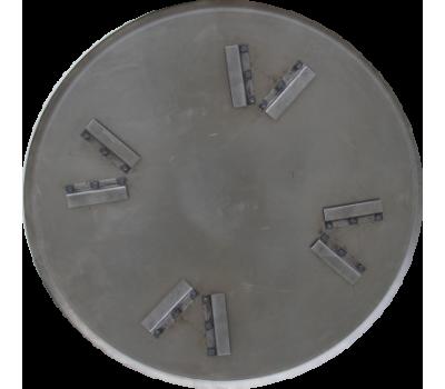 Затирочный диск, диаметр 650мм (для JM600), толщина стали 2,5мм (высота скобы 4,8см.)