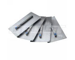 Комплект лопастей для двухроторной затирочн. маш. GROST – 150x270 мм (4шт)