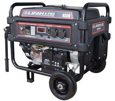 Бензиновый генератор Lifan SP4500
