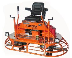 Двухроторная затирочная машина Samsan RPT 361  с комплектом транспортировочных колес