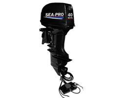 Двухтактный двигатель Sea-pro Т 40JS&E водомет