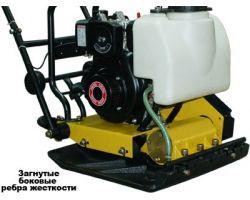 Виброплита TSS-MS120-LT (колесный комплект, бак)
